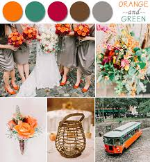 fall colors for weddings fall wedding color palette ideas 2014 trends country