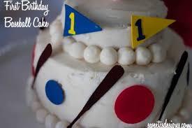 cake decorating first birthday baseball cake sweet c u0027s designs