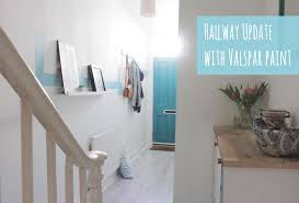 hallway makeover with valspar paints youtube
