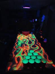 blacklight halloween party ideas black light beer pong table beer pong u003c3 pinterest beer pong
