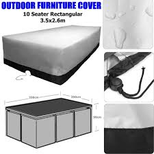Rectangular Patio Furniture Covers - online get cheap 10 seater outdoor furniture aliexpress com