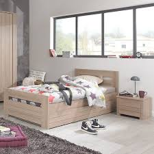 mobilier chambre contemporain naturela meubles lit enfant 90x200cm contemporain chambre d
