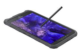 samsung introduce the galaxy tab active an 8 inch waterproof and