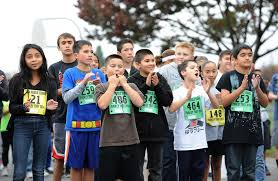 lodi students race for thanksgiving dinner at the turkey trot