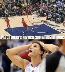 Blake Griffin Memes - nba memes on twitter blake griffin reacts to paul george s