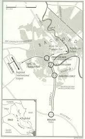 Baghdad Map The U S Army In Armored Tracks Takes Baghdad In 2003 Usmc 75 In