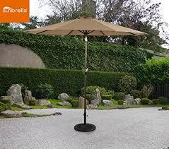 Patio Umbrella Sunbrella Ulax Furniture 9 Ft Outdoor Umbrella Patio Market