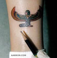 small egyptian tattoo picture
