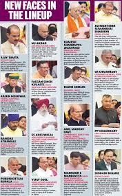 Modi Cabinet List Modi Major Cabinet Reshuffle Smriti Irani Loses Hrd To Prakash
