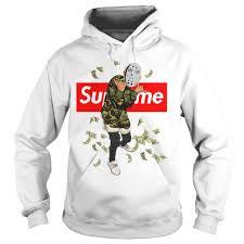 supreme shirts jason voorhees supreme hoodie shirt tank top white version