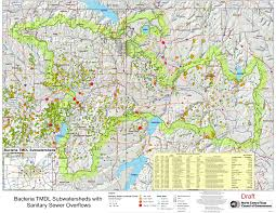 Map Dallas Texas by Greater Trinity River Bacteria Tmdl I Plan Project Environment
