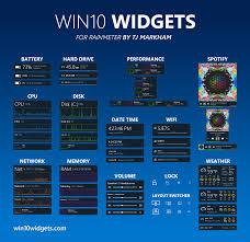 gadget bureau meteo win10 widgets apporte les gadgets sur windows 10 justgeek
