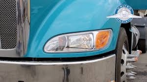 peterbilt 386 u0026 387 headlight installation tutorial youtube