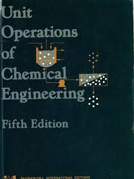 unit operations of chemical engineering 5th ed mccabe and smith pdf
