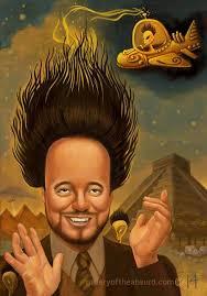 Giorgio Tsoukalos Aliens Meme - gallery of the absurd is giorgio tsoukalos hair a secret alien
