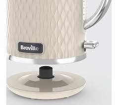 Kettle Toaster Buy Breville Curve Vkt019 Jug Kettle Cream Free Delivery Currys