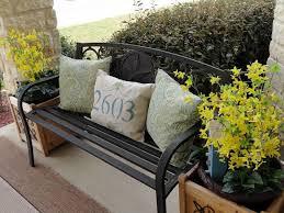 Bench Office Address Best 25 Front Porch Bench Ideas Ideas On Pinterest Front Porch