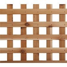 square heavy duty cedar lattice capitol city lumber