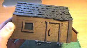 building balsa wood houses youtube