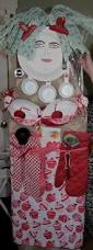 shower gift idea ironing board with kitchen items attached to