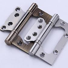 Kitchen Cabinet Fittings Accessories Lash Hinges 304 Stainless Steel Furniture Door Hinges 4 Inch