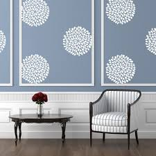 Flower Wall Decor Floral Pattern Floral Wall Decals Urban Walls