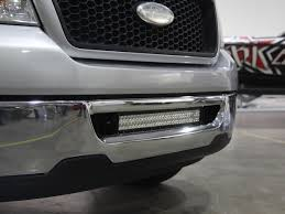f150 bumper light bar 2006 2008 f150 rigid industries led front bumper mount kit for e