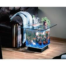 Fish Tank Living Room Table - aquarium end table