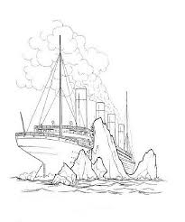 coloring pages of the titanic free titanic coloring pages printable