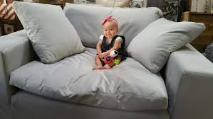 restoration hardware cloud sofa reviews one of our cutest accessories modeling our restoration hardware