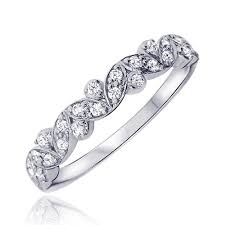 bague mariage or blanc tendance joaillerie 2017 alliance or blanc diamant vania alliance