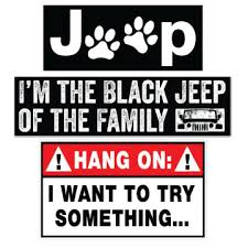 jeep decals all things jeep free shipping on all stickers and windshield decals