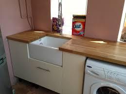 belfast sink in modern kitchen belfast sink installation utility room remodel hove jackson