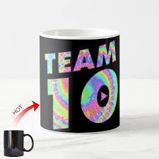 Coffee Magic novelty tie dye team 10 coffee magic mug cool jake paul martinez