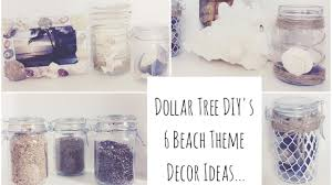 Beach Decor Home by Dollar Tree Diys 6 Beach Decor Ideas Youtube
