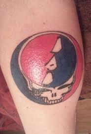 Steal Your Face Flag Was Told To Post Here Steal Your Face Tattoo With Dad Instead Of