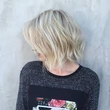 just below collar bone blonde hair styles 40 amazing choppy bob hairstyles for short medium hair 2018