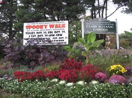 Clark Botanical Gardens Spooky Walk Returns To Botanical Gardens Mineola Ny