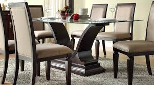 Dining Table Bases For Glass Tops Glass Dining Table Base U2013 Thelt Co