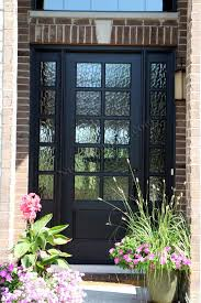 Exterior Entry Doors With Glass Superior Glass Front Doors Best Privacy Ideas On Pinterest In 15
