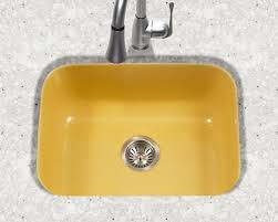 Houzer Porcelain Enameled Steel Kitchen Sinks - Porcelain undermount kitchen sink