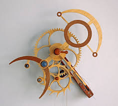 plans woodworking free scroll saw wooden gear clock plans
