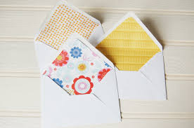 paper doily makes diy envelope liners