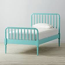 twin jenny lind azure bed the land of nod