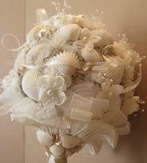 wedding bouquets with seashells wedding bouquet seashell bouquet wedding seashell bouquet