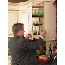 Cabinet Pull Out Shelves by Rev A Shelf Kitchen Upper Cabinet Pull Out Organizer Available