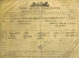 happy birthday telegrams darwin s birthday telegram from naples in 1874 dar 172 1