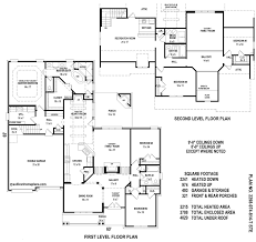 modern tuscan style house plan 5 bedroom double storey floor plans download