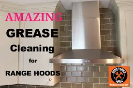 How To Clean Greasy Kitchen Cabinets Wood How To Clean A Greasy Kitchen Hood U0026 Filter Home Repair Tutor