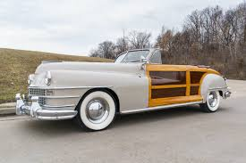 Country Classic Cars - 1947 chrysler town and country fast lane classic cars